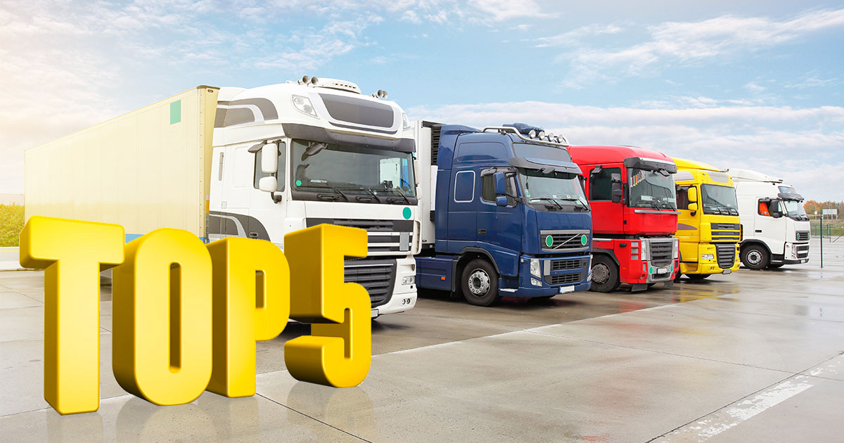 top 5 logistics company