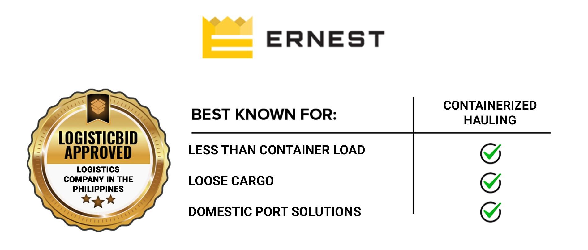 Ernest Logistics