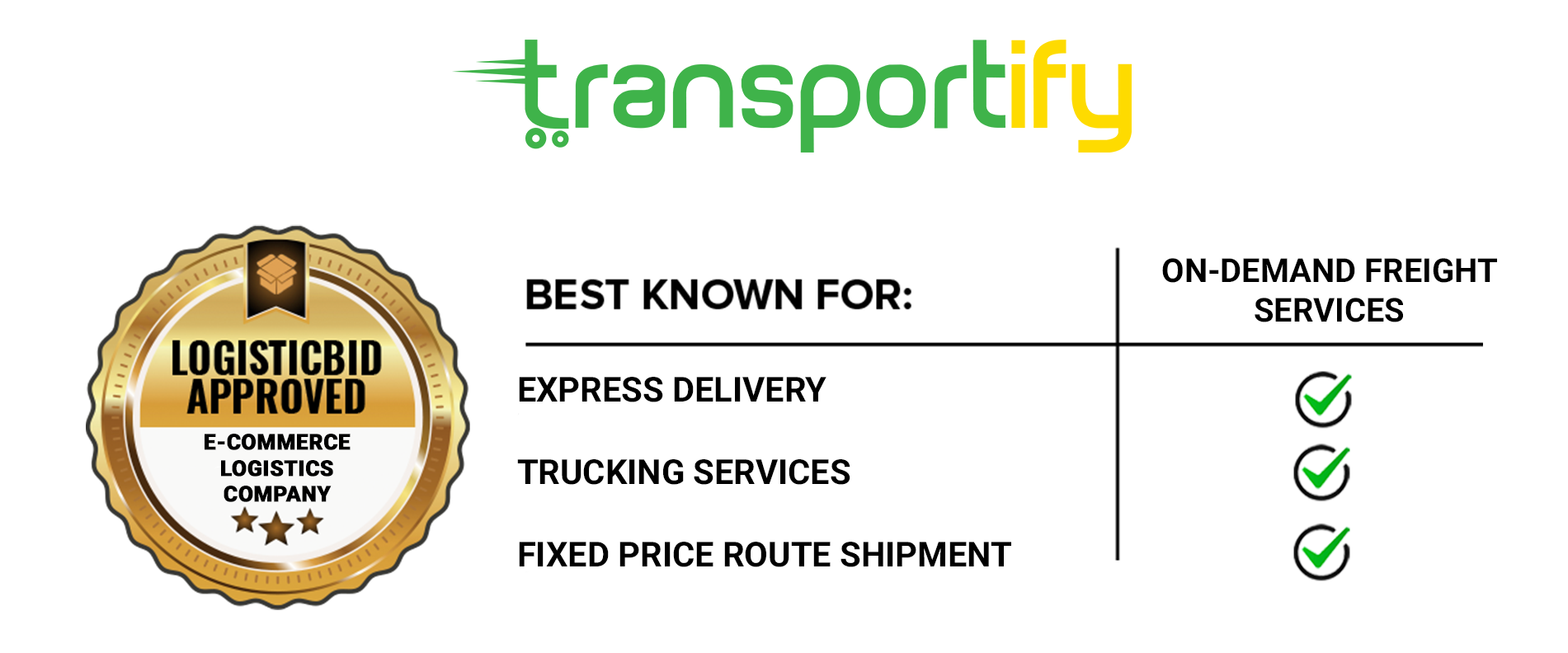 Trucking Services of Leading E-commerce Logistics Company - Transportify