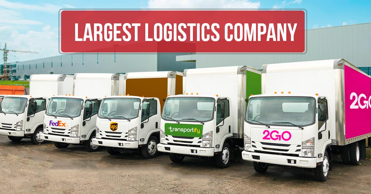Largest Logistics Company for Freight Services