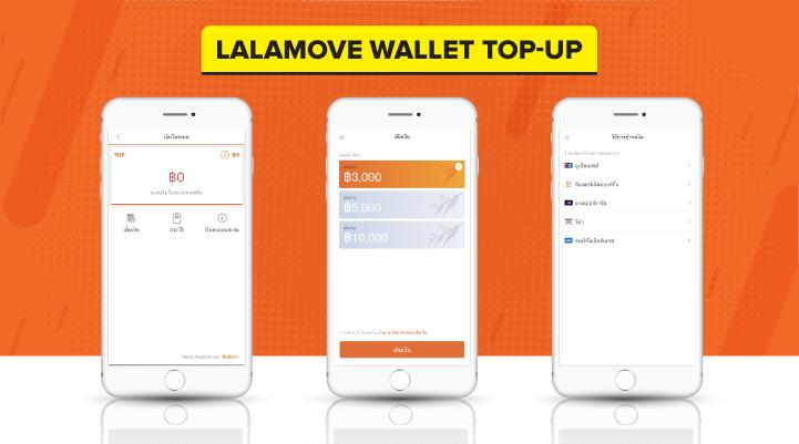 Lalamove Wallet Top-up