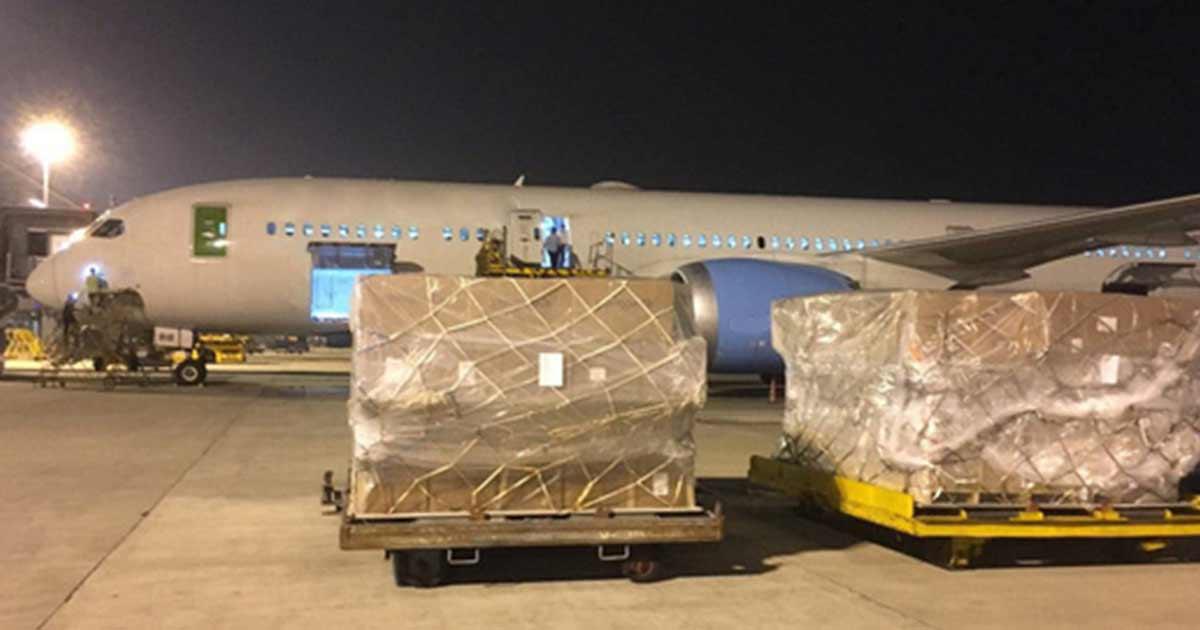 Kapal Vietnam untuk Transportasi Gratis Bantuan Banjir