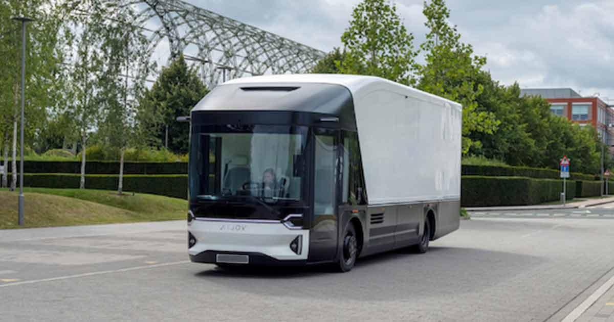Volta Trucks Meluncurkan Truk Listrik Perkotaan