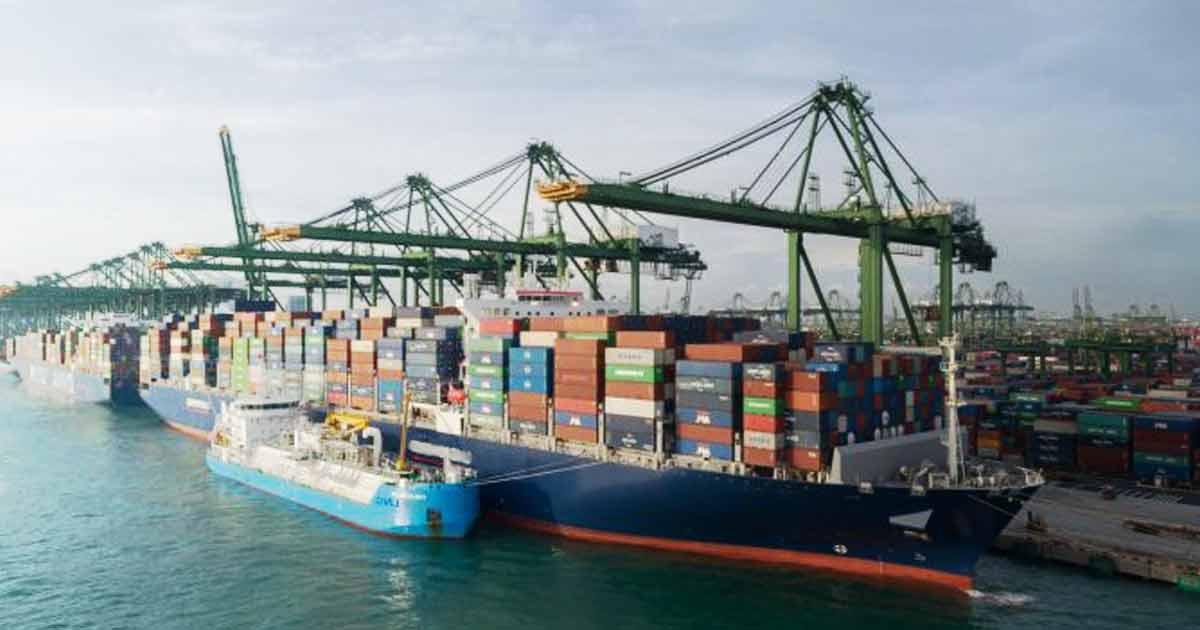 Singapura-Jalankan-Operasi-LNG-Kapal-Ke-Kontainer-Pertama