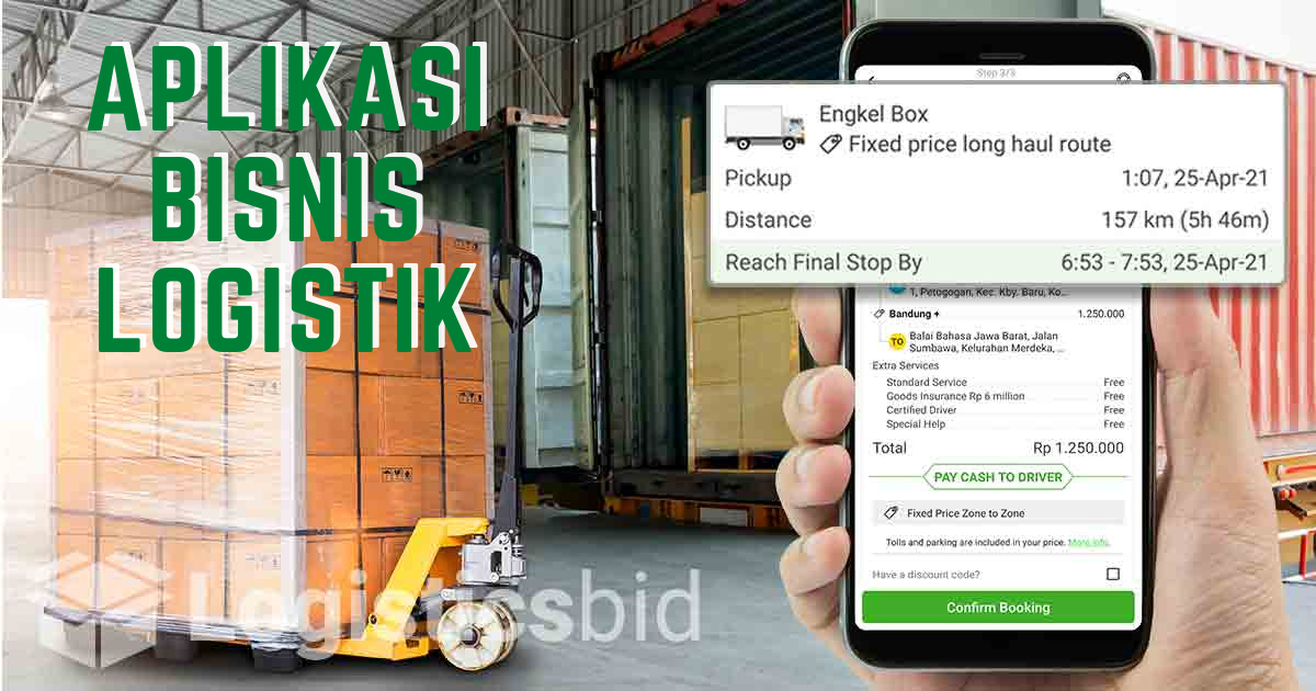Aplikasi Logistik Bisnis Ekspedisi Murah Deliveree