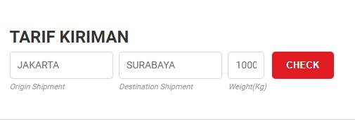 Cek Ongkir JTR JNE Cargo Terdekat