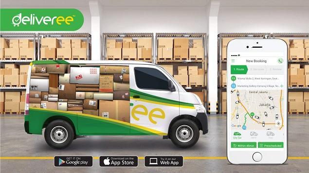 Aplikasi Deliveree