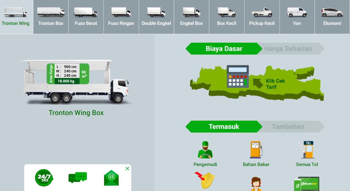 Fleet and Price Deliveree