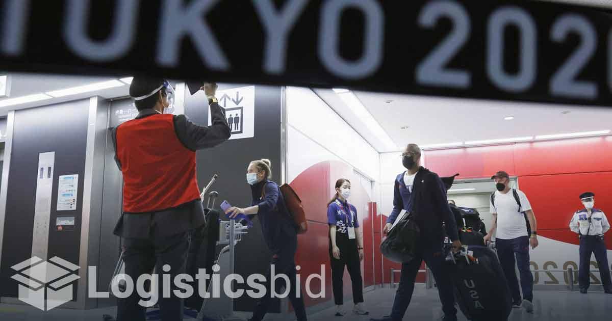 Transportasi Pandemi Olimpiade Buktikan Mimpi Buruk Logistik